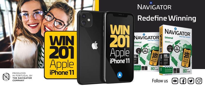 Navigator iPhone 11 promotion
