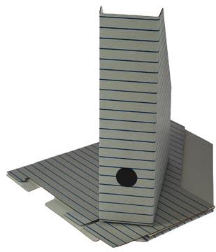 Porte-revues jeu de 3 boîtes emballées sous film rétractable