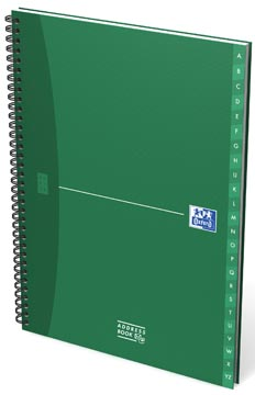 Oxford OFFICE Essentials livre d'adress, 144 pages, ft A4
