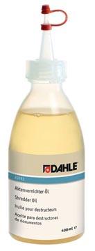 Dahle huile pour destructeurs de documents, flacon de 400 ml