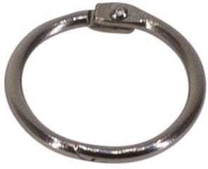 Bronyl anneaux brisés diamètre 19 mm, boîte de 100 pièces