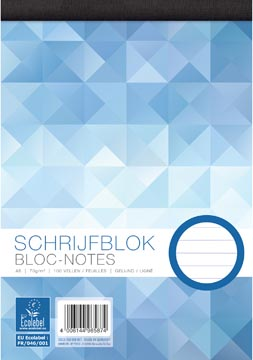 Work bloc-notes, ft A5, 70 g/m², 100 feuilles, ligné
