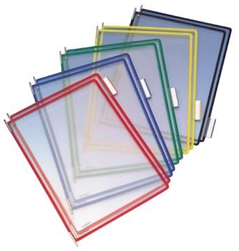 Tarifold poche à pivots couleurs assorties