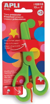 Apli Kids ciseaux préscolaires 13 cm, sous blister
