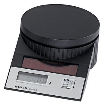 Maul pèse-lettres MAULtronic, pèse jusqu'à 2 kg, intervalle de poids 0,5 g, noir