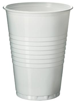 Gobelet en polystyrène pour boissons chaudes, 180 ml, blanc, paquet de 100 pièces