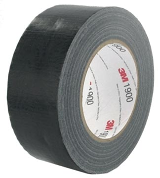 3M duct tape 1900, ft 50 mm x 50 m, noir