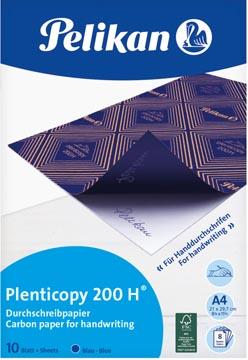 Pelikan papier carbone Plenticopy 200H, pochette de 10 feuilles