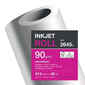 Clairefontaine papier plotter, ft 914 mm x 45 m, 90 g