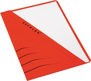 Jalema pochette Secolor découpée rouge