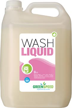 Greenspeed lessive liquide Wash Liquid, 71 doses, flacon de 5 litres
