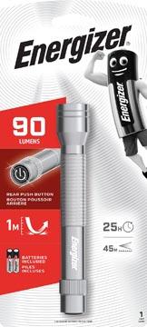 Energizer torche Metal LED 2AA, 2 piles AA inclus, sous blister