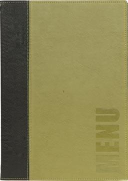 Securit Trendy protège-menu ft A4, vert