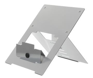 R-Go Riser Flexible support pour ordinateur portable, argent