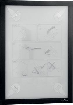 Durable Duraframe Wallpaper cadre autocollant, format A4, noir