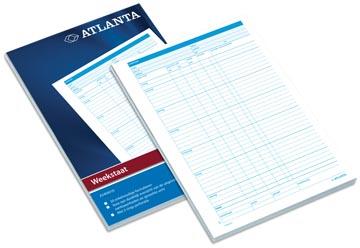 Atlanta by Jalema blocs fiches hebdomadaires