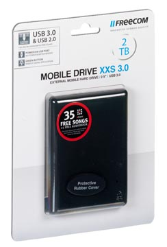Freecom Mobile Drive XXS 3.0 disque dur, 2 To