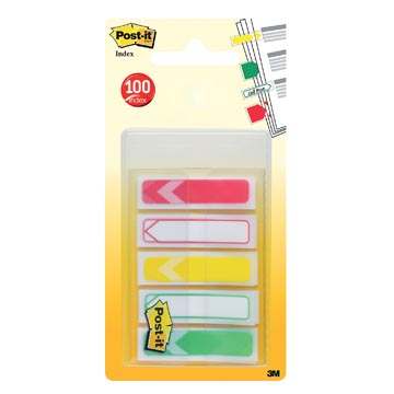 Post-it Index To Do flèches, ft 11,9 x 43,2 mm, paquet de 5 x 20
