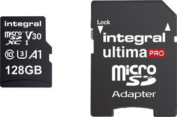 Integral carte mémoire microSDXC, 128 Go