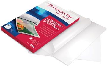 Pergamy pochette à plastifier, ft A3, 200 microns (2 x 100 microns), paquet de 100 pièces