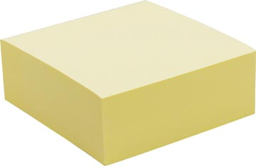 Pergamy jumbo notes, ft 76 x 76 mm, 320 feuilles, jaune
