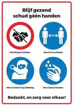 Autocollant de sécurité, symboles avec règles de conduite, ft A3
