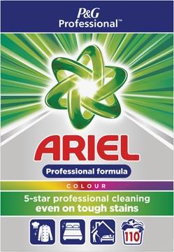 Ariel lessive en poudre, pour le ligne coloré, 110 doses, boîte de 7,15 kg