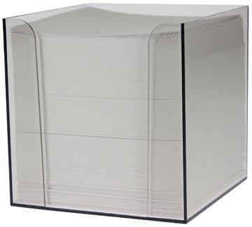 Cube-mémo en PP, feuillets blancs