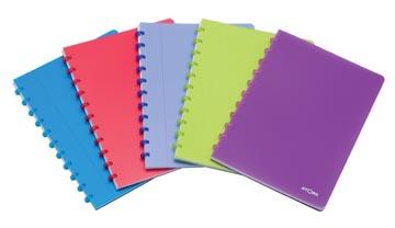 Atoma cahier Trendy ft A4, ligné, couleurs assorties