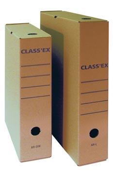 Class'ex boîte à archives, pour ft folio, ft intérieur: 36,5 x 25,1 cm