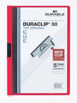 Durable chemise à pince Duraclip Original 30 rouge
