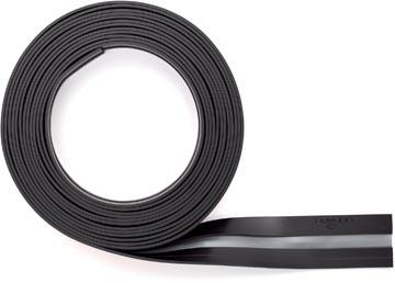Durable Durafix barre magnétique adhésive sur rouleau, 5 m, argent