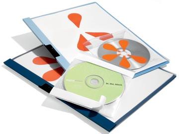 Durable pochette pour CD Fix, 10 pièces