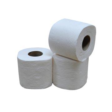 Papier toilette, 2 plis, 400 feuilles, paquet de 40 rouleaux