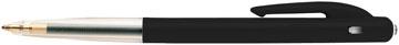 Bic stylo bille M10 Clic, pointe moyenne, 0,4 mm, noir