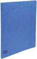 Exacompta classeur à anneaux carte lustrée, ft A4, 2 anneaux de 1,5 cm, bleu