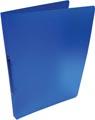 Alpha classeur à anneaux, pour ft A4, en PP, 2 anneaux de 16 mm, bleu tranparent